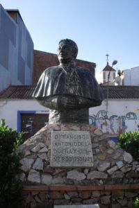 busto de Francisco Antonio de la Dueña y Cisneros