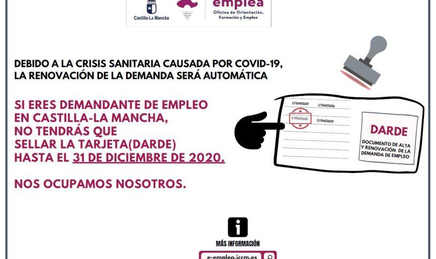 Renovación automática  demanda de empleo